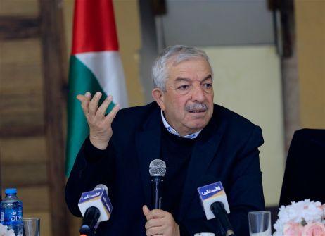 العالول: الرئيس قرر سحب الاعتراف بإسرائيل