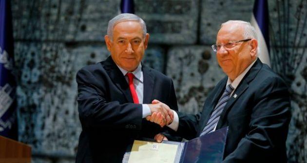 الرئيس الإسرائيلي يكلف نتنياهو بتشكيل الحكومة