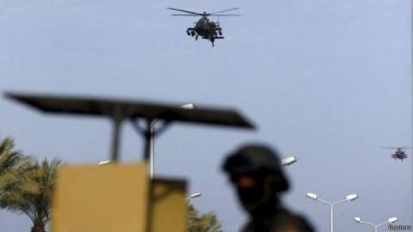 الجيش المصري يعلن مقتل 100 متشدد في سيناء و 9 من قيادات الأخوان داخل شقة في القاهرة