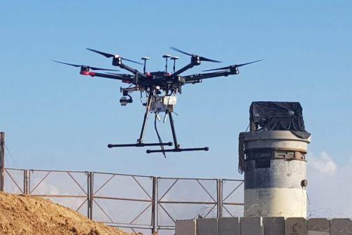 طائرات مروحية خاصة الرد الإسرائيلي على الطائرات الورقية الغزية الحارقة
