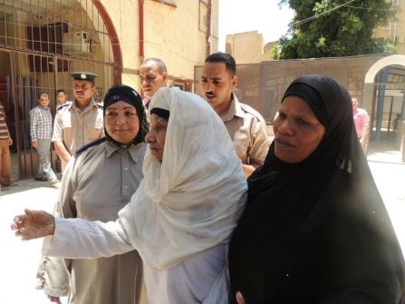 قصة سجينة عمرها 103 أعوام أفرج عنها السيسي