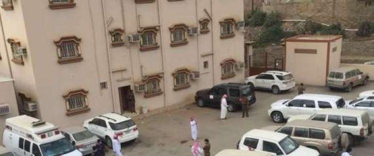 معلّم سعودي يطلق النار على موظّفين برشاش ويقتل منهم7