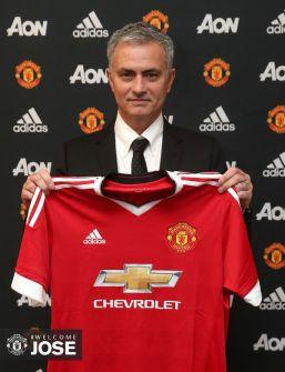 رسمياً.. جوزيه مورينيو مدرباً لمانشستر يونايتد