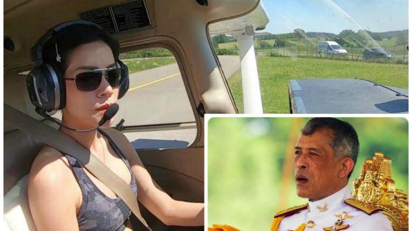ملك تايلاند يجرد 'زوجته' من كل ألقابها