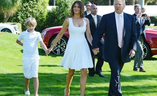 أخيرا ميلانيا ترمب تنتقل الى البيت الأبيض!!