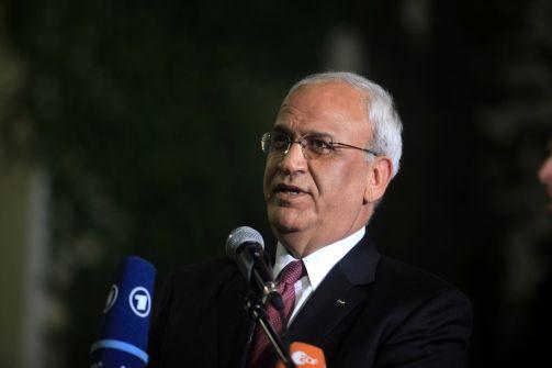 عريقات: اسرائيل تواصل جرائم الحرب ضد الفلسطينيين