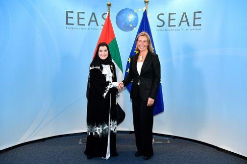 موغريني: الإمارات حليف قوي للاتحاد الأوروبي ونقدر دعمها للحل السلمي في اليمن