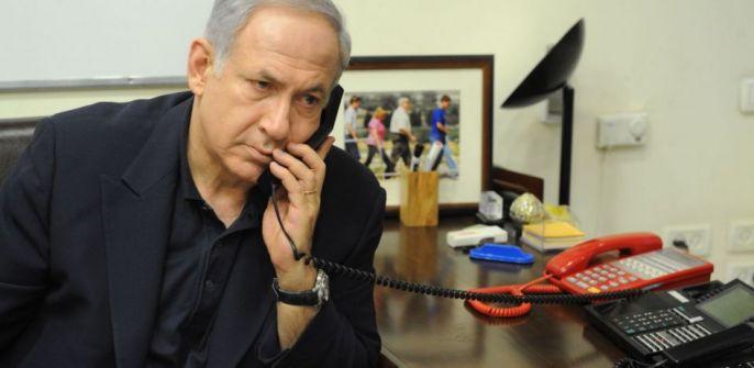 هكذا تلقى نتنياهو في واشنطن سقوط صاروخ على تل أبيب