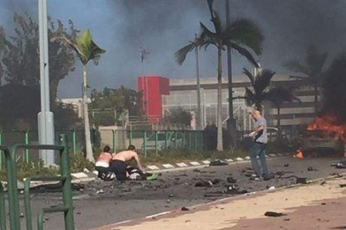اصابة 4 اسرائيليين بجراح خطيرة في تفجير سيارة على خلفية جنائية