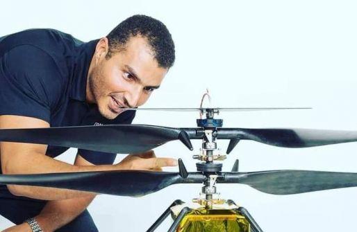 المهندس لؤي البسيوني الفلسطيني أحد المشاركين بمهمة