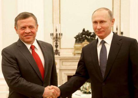 قمة أردنية روسية الخميس لبحث عملية التسوية
