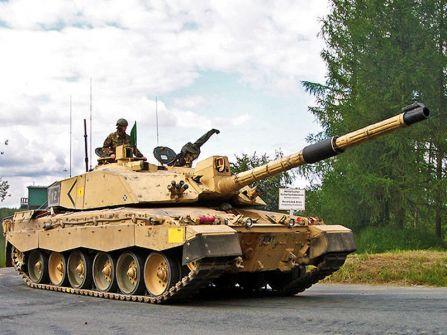نشر معلومات سرية حول دبابات الجيش البريطاني