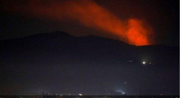 سوريا تعلن عن تصدي دفاعاتها الجوية لعدوان إسرائيلي في دمشق