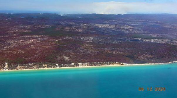 الصيف الأسود يعود إلى أستراليا.. تفحّم جزيرة بالكامل جراء النيران