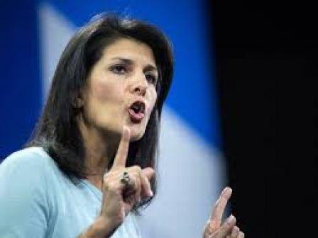هايلي: أمريكا قلقة جدًا على 'إسرائيل'