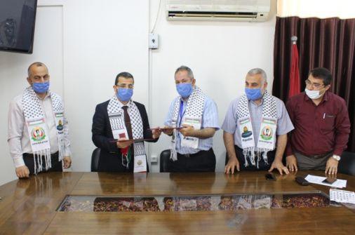 مستشفى حمد ووزارة الصحة بغزة يوقعان مذكرة تفاهم لتقديم خدمة التصوير المقطعي