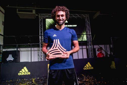 فلسطيني يمثل دبي في نهائي دوري أديداس تانجو بالمونديال