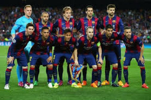 برشلونة يقهر الصعاب وينتزع كأس الملك من أنياب إشبيلية
