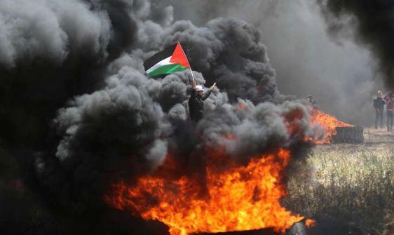 غزة : استعدادات لـ 'جمعة الوفاء لشهيد كوبر' ضمن مسيرات العودة