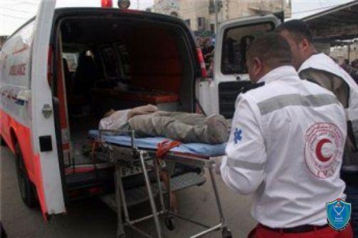 وفاة شاب بحادث سير ذاتي بنابلس