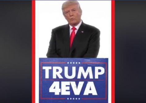 ترامب عبر تويتر : رئيس أميركا للأبد ! -فيديو