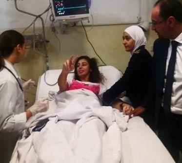 نقل اللبدي ومرعي للمدينة الطبية...مرعي: كُسرت شوكة الاحتلال