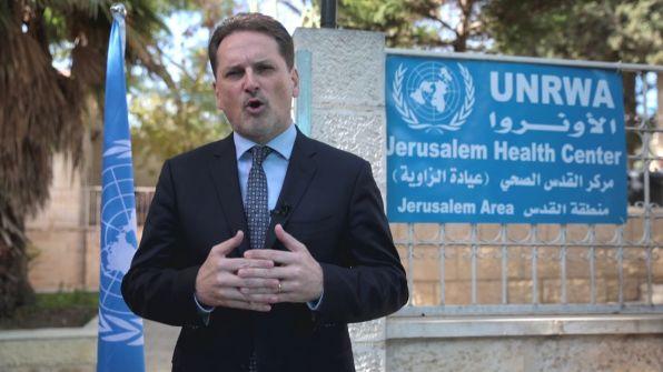 رسالة مفتوحة من المفوض العام للأونروا للاجئي فلسطين ولموظفي الأونروا