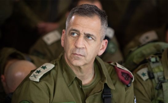 رئيس هيئة أركان جيش الاحتلال يدخل الحجر الصحي