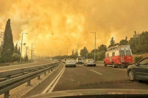 تقرير: 1000 حريق في إسرائيل خلال أيار