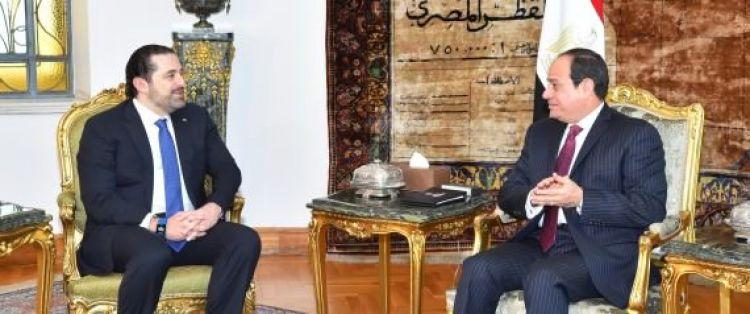 صحيفة لبنانية تكشف دور السيسي في أزمة الحريري.. اجتماعات سرية بقبرص ومفاوضات مكثفة مع السعودية والإمارات وفرنسا