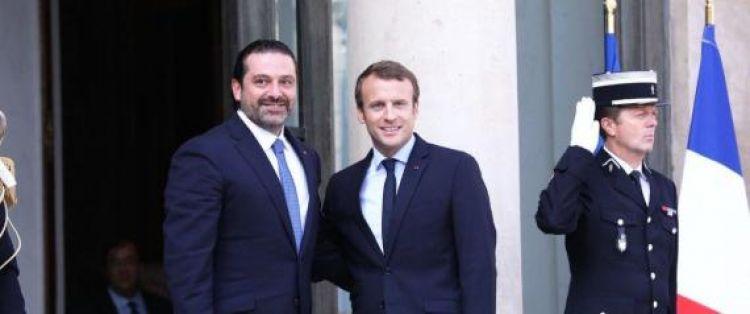ماكرون: نستقبل سعد الحريري في فرنسا بصفته رئيساً لوزراء لبنان