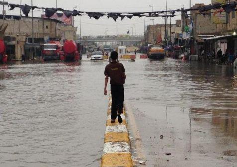 أمطار العراق تقتل طفلة.. وتحذير من سيول شديدة