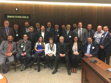 في لقاء هو الأول من نوعه:  الجاليات العربية والإسلامية في كندا تلتقي شخصيات رفيعة من الحزب الديمقراطي الجديد من أجل فلسطين