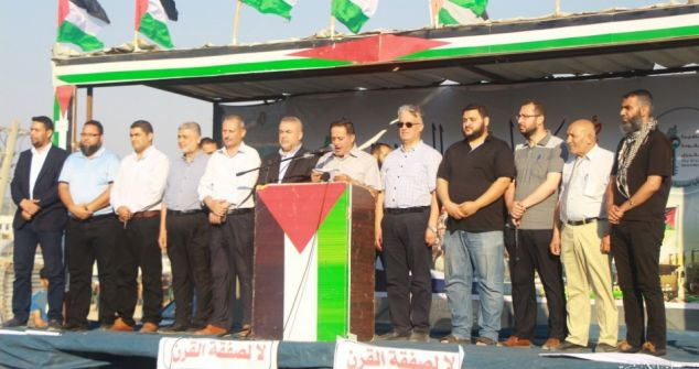 الهيئة الوطنية العليا تدعو الفلسطينيين في لبنان لاستمرار تحركهم السلمي الرافض لقانون التهجير