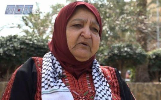 هنية: أم ناصر أبو حميد نموذج للمرأة الفلسطينية الثابتة
