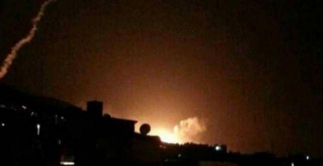 هجوم صاروخي إسرائيلي على مطار 'التيفور' بسوريا