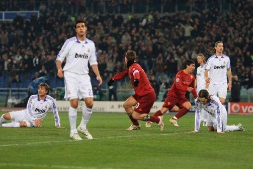 روما يقصي ريال مدريد من كأس الابطال