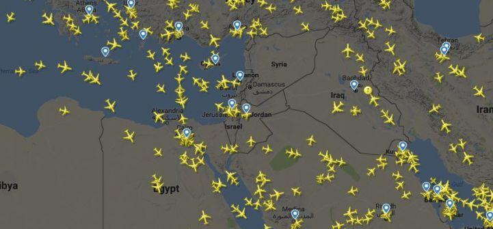 سوريا :فيتو روسي وتحذيرات لشركات الطيران المدني بالابتعاد عن سماء البحر المتوسط خوفاً من توجيه ضربة للأسد خلال 72 ساعة