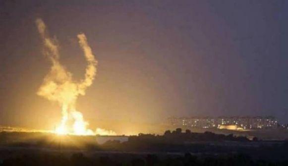 طائرات الاحتلال تقصف هدفاً للمقاومة شمال غزة فجراً