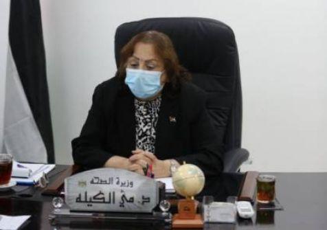 وزيرة الصحة: منحنى الإصابات بكورونا في الخليل عاد للارتفاع
