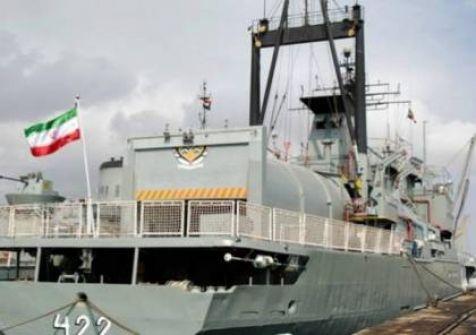 بالفيديو: مدمرة بحرية تختفي عن الرادار لم تشهدها إيران من قبل
