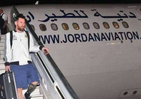 (شاهد)...طائرة أردنية تُقل ميسي من السعودية إلى 'إسرائيل'