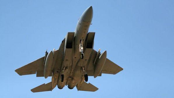 طائرة حربية مغربية تحط في اسرائيل