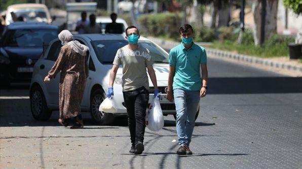 غزة: حالة وفاة وتسجيل ٢٧٤ اصابة جديدة بكورونا