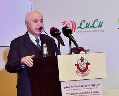 أبوغزاله يدعو رجال الأعمال لتبني رؤية جديدة لخدمة المجتمع