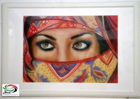 اللويبدة تتألق بالنهضة والفن التشكيلي ...بقلم وعدسة: زياد جيوسي