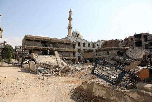 بيان:جميع منشآت الأونروا في مخيمي اليرموك ودرعا في سورية تضررت بشدة أو تم تدميرها بالكامل