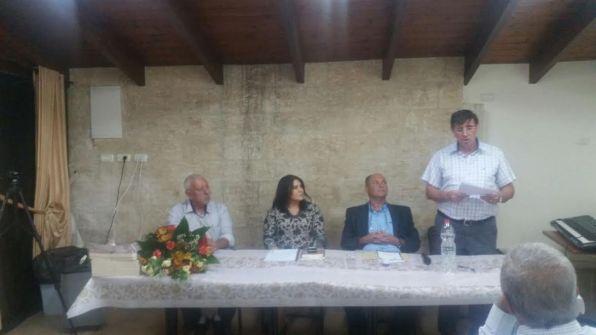 الكاتب محمد هيبي و'نجمة النمر الأبيض' في أمسية ثقافية في دارة الثقافة والفنون في الناصرة