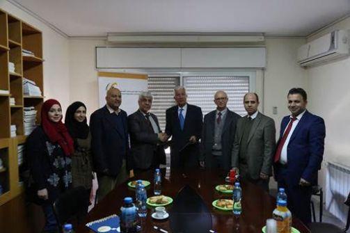 نقيب المهندسين يوقع مذكرة تفاهم مع رئيس مجلس إدارة الإتحاد العام للصناعات الفلسطينية