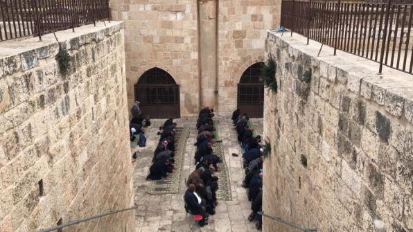 إعتقال شاب فتح 'مصلى الرحمة'